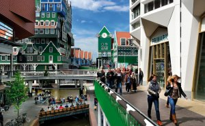 Zaandam city centre